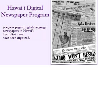 Hawaii Digital Newspaper Project